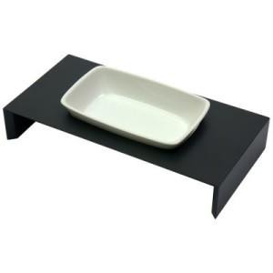 Replus Keramik Einzelnapf Meshidai Siam - schwarz - 0