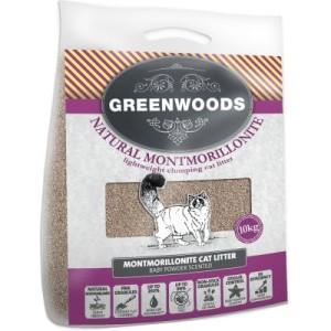 Restposten: Greenwoods ultraleichte Naturtonstreu - Sparpaket: 3 x 10 kg