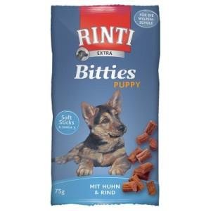 Rinti Extra Bitties Puppy Huhn & Rind - 6 x 75 g