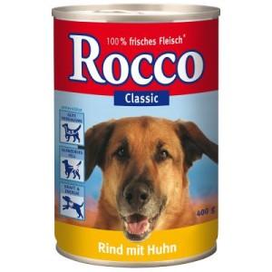 Rocco Einzeldose 1 x 400 g - Real Hearts Rind mit ganzen Hühnerherzen