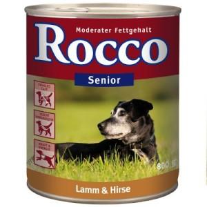 Rocco Senior 6 x 800 g - Geflügel & Haferflocken