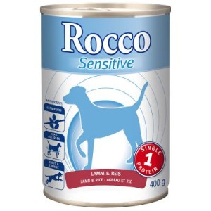 Rocco Sensitive 6 x 400 g - Huhn & Kartoffeln