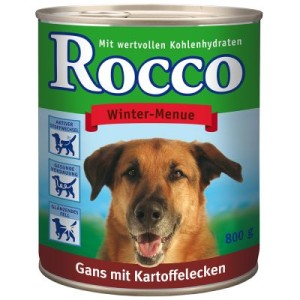 Rocco Winter-Menue 6 x 800 g (Sonderedition) - Gans mit Kartoffelecken