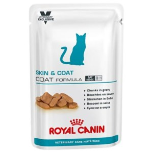 Royal Canin Adult Skin & Coat - Vet Care Nutrition - 12 x 100 g