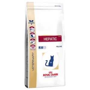 Royal Canin Hepatic Feline - Veterinary Diet - Sparpaket: 2 x 2 kg
