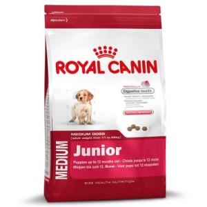 Royal Canin Medium Junior - 15 + 3 kg gratis!
