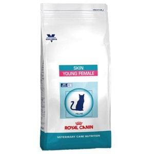 Royal Canin Skin Young Female - Vet Care Nutrition - Sparpaket: 2 x 3