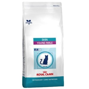 Royal Canin Skin Young Male - Vet Care Nutrition - Sparpaket: 2 x 3