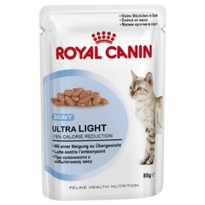 Royal Canin Ultra Light in Soße - 48 x 85 g