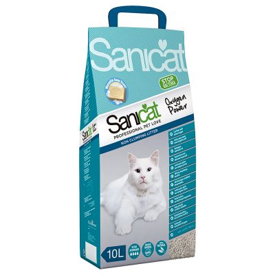 Sanicat Oxygen Power Clumping - 10 l