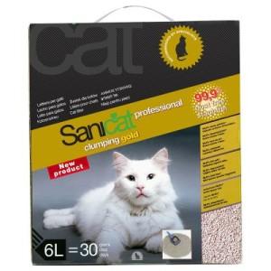 Sanicat Professional Clumping Gold - 3 x 6 l