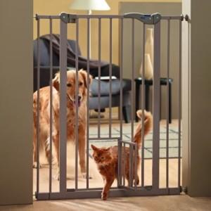 Savic Dog Barrier mit Katzentür - Höhe 107 cm