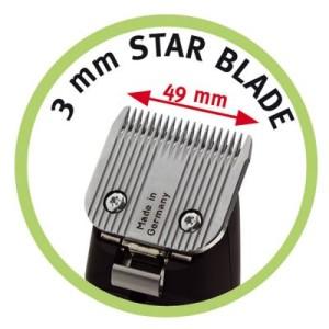 Scherköpfe für Moser max45 und Moser max50 - Ersatzscherkopf 3 mm