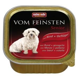 Schlemmerpaket Animonda vom Feinsten 24 x 150 g - Adult: Pute & Lamm