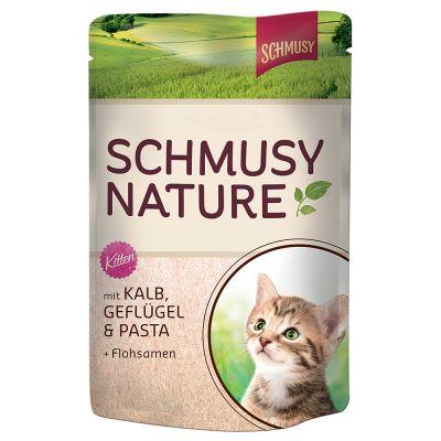 Schmusy Nature im Frischebeutel 12 x 100 g - Huhn