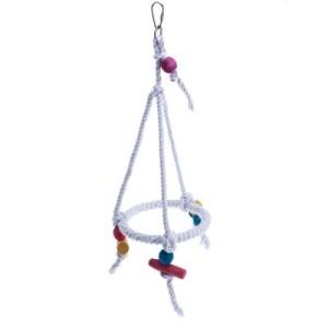 Seilring hängend - L 45 x Ø 20 cm