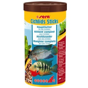 Sera Cichliden Sticks - 2 x 1000 ml
