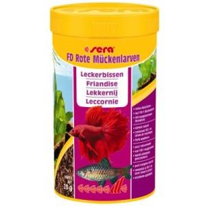 Sera FD Rote Mückenlarven - 2 x 250 ml