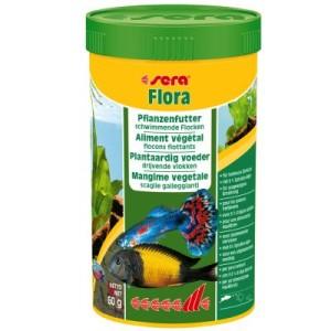 Sera Flora Flockenfutter - 2 x 250 ml