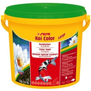 Sera Koi Color large Granulat - 2 x 3800 ml