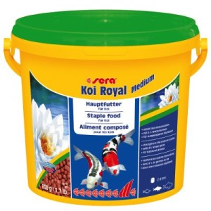 Sera Koi Royal medium Granulat - 2 x 3800 ml