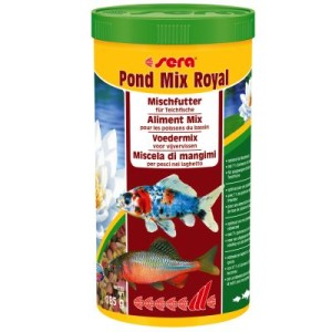Sera Pond Mix Royal Teichfischfutter - 2 x 1000 ml
