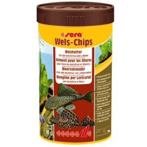 Sera Wels-Chips Chipsfutter - 250 ml