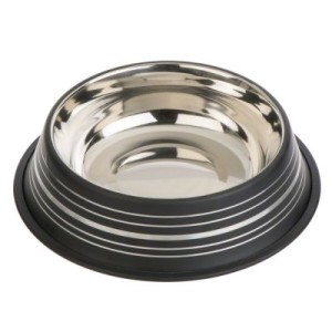 Silver Line Edelstahlnapf mattschwarz - 450 ml