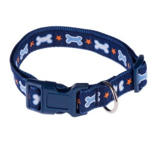 Smartpet Hundehalsband Fancy Bones - M: Halsumfang 33 - 55 cm