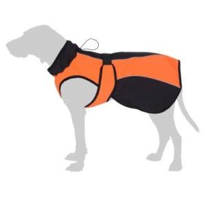 Smartpet Softshell-Hundemantel orange - ca. 62 cm Rückenlänge
