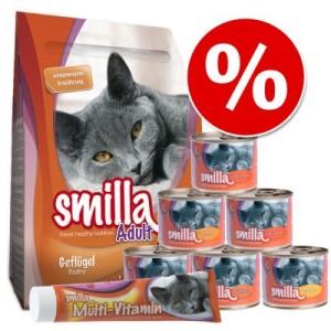 Smilla Probierpaket: Trocken- und Nassnahrung + Paste - Set 2: mit Multi-Vitamin-Paste 2