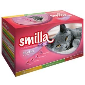 Smilla Sterilised Frischebeutel Mixpack - 24 x 85 g