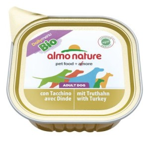 Sparpaket Almo Nature Bio Paté 12 x 100 g - mit Truthahn