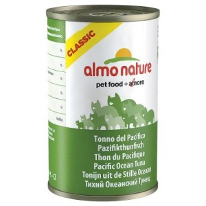 Sparpaket Almo Nature Classic 12 x 140 g - Thunfisch & Huhn