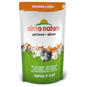 Sparpaket Almo Nature Orange Label Adult 3 x 750 g - Orange Label: Adult Sardine