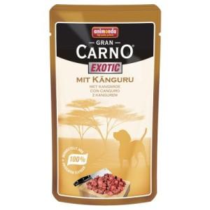 Sparpaket Animonda GranCarno Exotic 24 x 125 g - mit Känguru