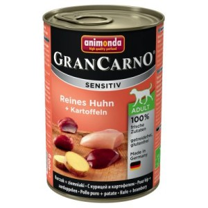 Sparpaket Animonda GranCarno Sensitive 24 x 400 g - Mix