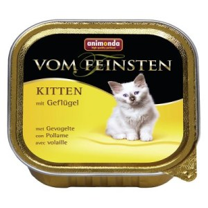Sparpaket Animonda vom Feinsten Kitten 36 x 100 g - mit Lamm
