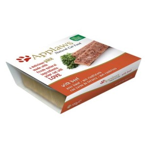 Sparpaket Applaws Cat Patè 24 x 100 g - Lachs