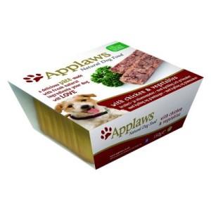 Sparpaket Applaws Dog Paté 24 x 150 g - Hühnchen & Gemüse