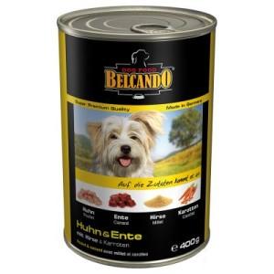 Sparpaket Belcando Super Premium 24 x 400 g - Rind mit Kartoffel & Erbsen