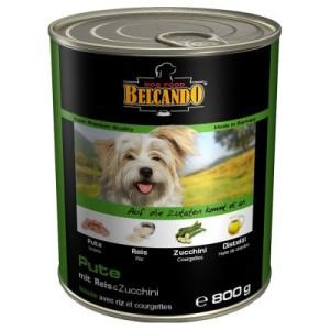 Sparpaket Belcando Super Premium 24 x 800 g - Pute mit Reis & Zucchini
