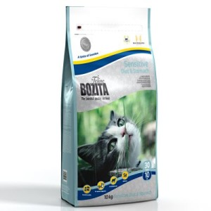 Sparpaket Bozita Feline 2 x Großgebinde - Diet & Stomach - Sensitive (2 x 10 kg)