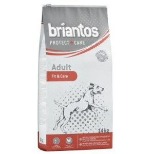 Sparpaket Briantos Protect + Care 2 x Großgebinde - Adult Fit & Care (2 x 14 kg)