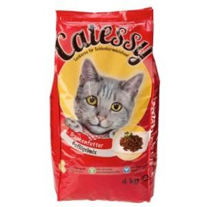 Sparpaket Catessy 4 x 4 kg - 4 x 4 kg Herzhafter Mix