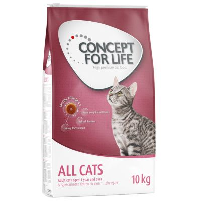 Sparpaket Concept for Life 2 x Großgebinde - Outdoor Cats (2 x 3 kg)