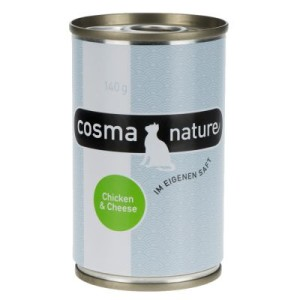 Sparpaket Cosma Nature 12 x 140 g - Thunfisch & Shrimps