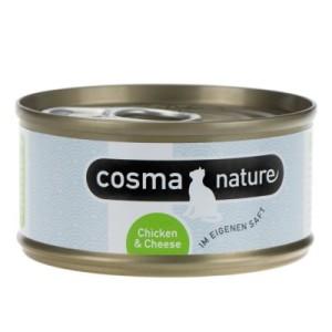 Sparpaket Cosma Nature 24 x 70 g - Gemischtes Paket (6 Sorten)