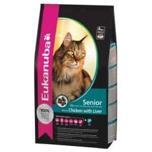 Sparpaket Eukanuba 2 x Kleingebinde - Top Condition 7+ Mature/Senior (4 x 2 kg)