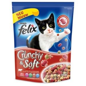 Sparpaket Felix Crunchy & Soft 3 x 750 g - Sparpaket Lachs (3 x 750 g)